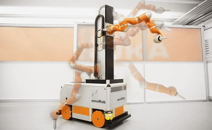Nuevos sistemas robóticos y de automatización equipados con sensores e interfaces estandarizadas están comenzando a complementar y, en algunos casos, eliminar el trabajo humano en muchos procesos. (Foto: Valeri Project)