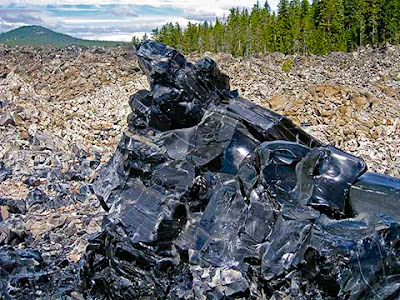 obsidiana yacimiento volcanico | foro de minerales