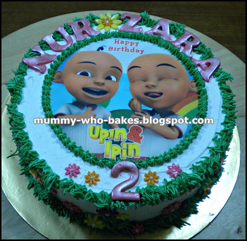 My Little Cupcakes UpinIpin Birthday cake