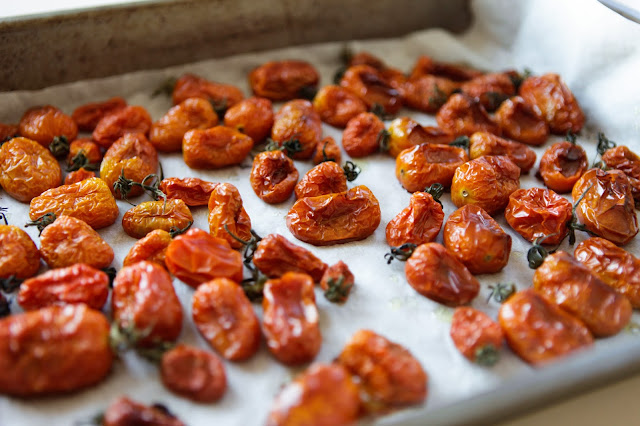 Slow Oven Roasted Cherry Tomatoes