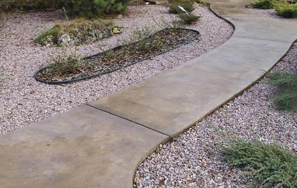 Декоративный бетон дорожки правило укладки бетонной смеси