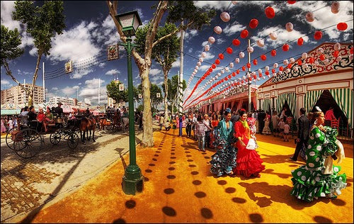 Sevilla´s Feria, Andalucía, Spain
