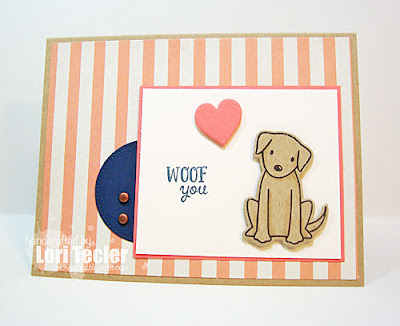 Woof You card-designed by Lori Tecler/Inking Aloud-stamps from Avery Elle