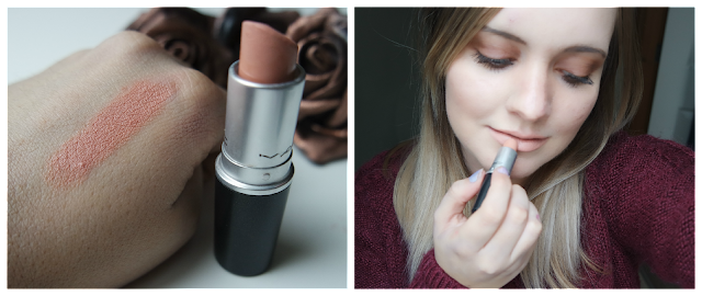 MAC Myth Lipstick Review and Swatches