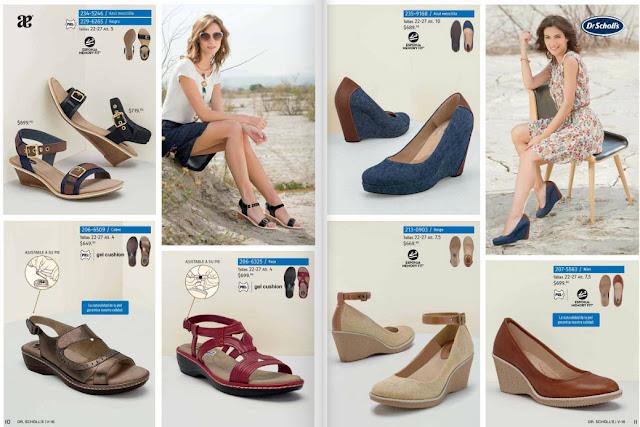 Catalogo de calzado DR schoolls colección Andrea verano 2016
