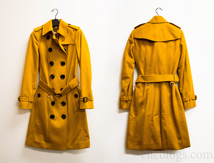 Review: Burberry Sandringham Fit Cashmere Trench Coat
