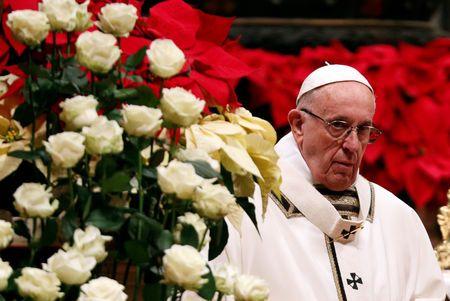 Папа Франциск дорікнув вірянам за потяг до надміру матеріальних благ