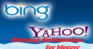 Submit Your Blogger Sitemap to Yahoo & Bing Search Engine ...