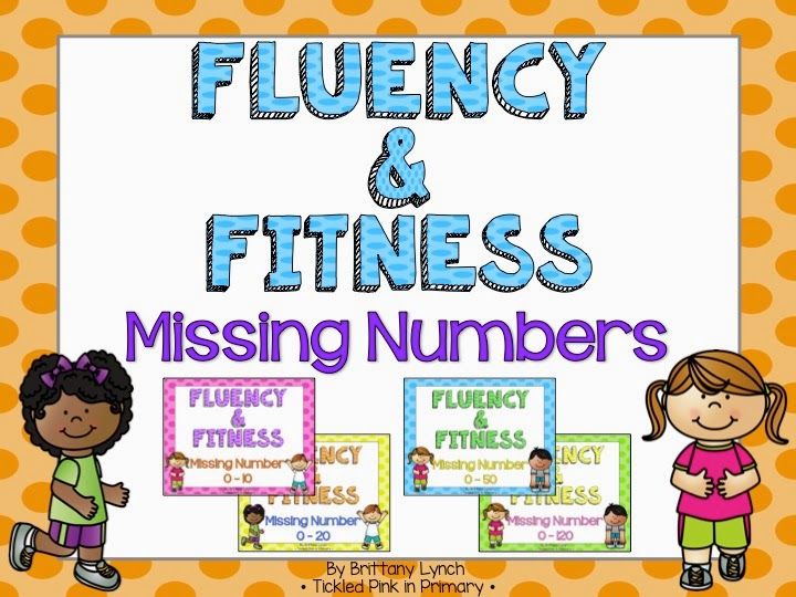 Fluency and Fitness - Missing Numbers