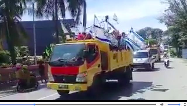 Polisi Cek Aksi Konvoi Kibarkan Bendera Israel di Jayapura