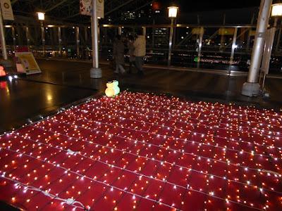 大阪ステーションシティ5F 時空の広場 イルミネーション