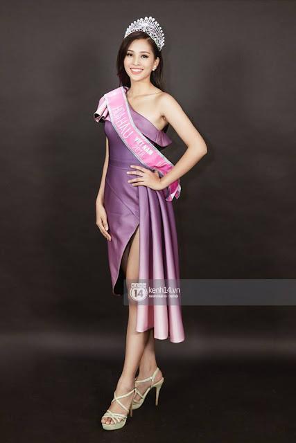 Tân hoa hậu Trần Tiểu Vy
