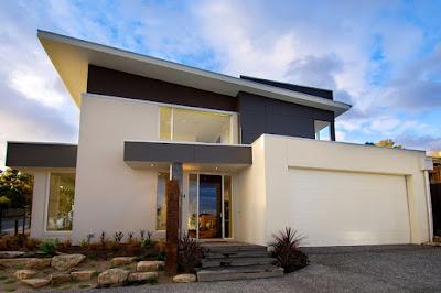 แบบบ้านปูนสีขาว