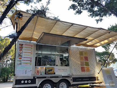 Artipasta food trailer at The Thicket