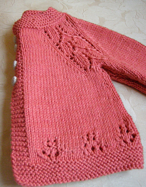 Soft Coral Sweater - Free Pattern