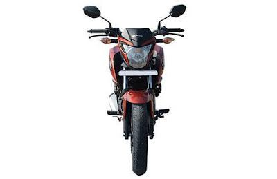 New 2016 Honda CB Hornet 160R front view
