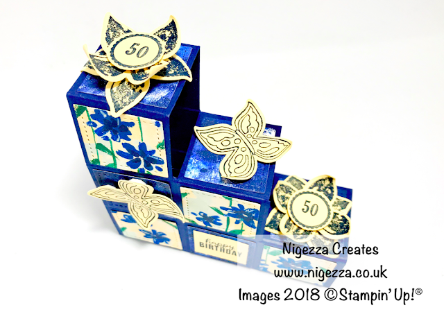 Stampin' Up!® Garden Impressions Block Card Nigezza Creates