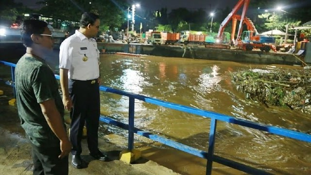 Banjir Jadi Alasan Ibu Kota Pindah, Ini Kata Anies