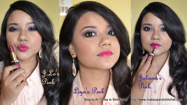pink lip makeup