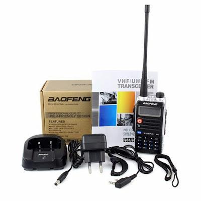 Baofeng BF-UVB2 Plus Walkie Talkie Dual Band VHF/UHF