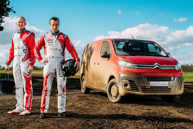 New Citroën Dispatch: WRC tried and tested
