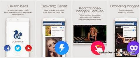 Download UC Browser Mini untuk Android terbaru | Androidesia