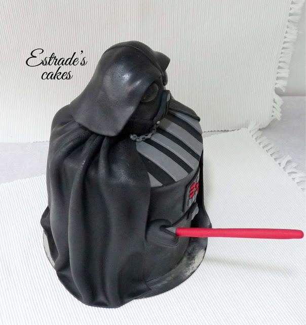 tarta de Darth Vader 4