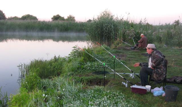 рыбаки на Херсонщине