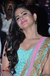 Actress Naina Ganguly Stills in Long Dress at Vangaveeti Audio Launch  0051.JPG