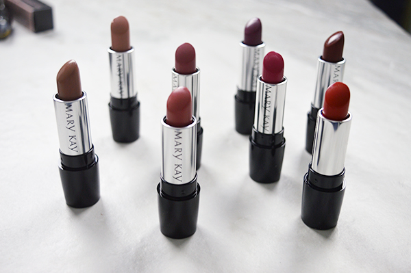 Mary Kay Cosmetics Gel Semi-Matte Lipstick shades