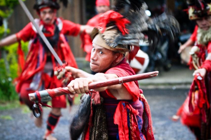 Tari perang dari Maluku