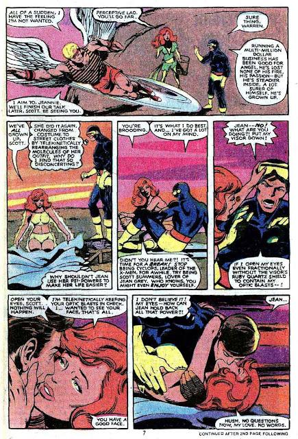 X-men v1 #132 marvel comic book page art by John Byrne