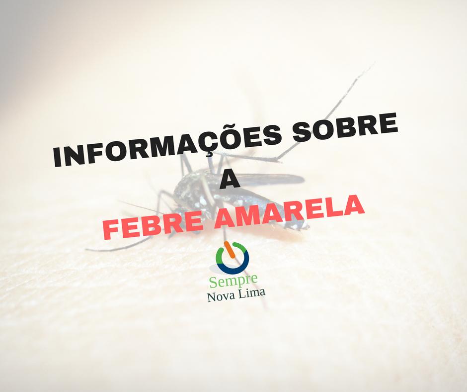 Prefeitura confirma a sexta morte por Febre Amarela