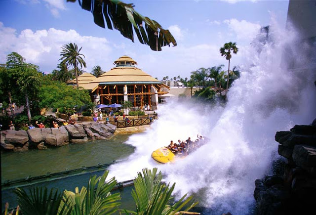 Jurassic Park River Adventure no Islands Of Adventure em Orlando