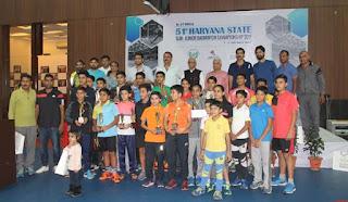 51st Haryana State Sub-Junior Badminton Championship Devika Sihag & Ridhi Kaur Toor