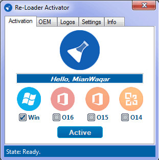 Re-Loader Activator is the most latest Windows and Office all editions/versions, one click, automatic and offline activator.