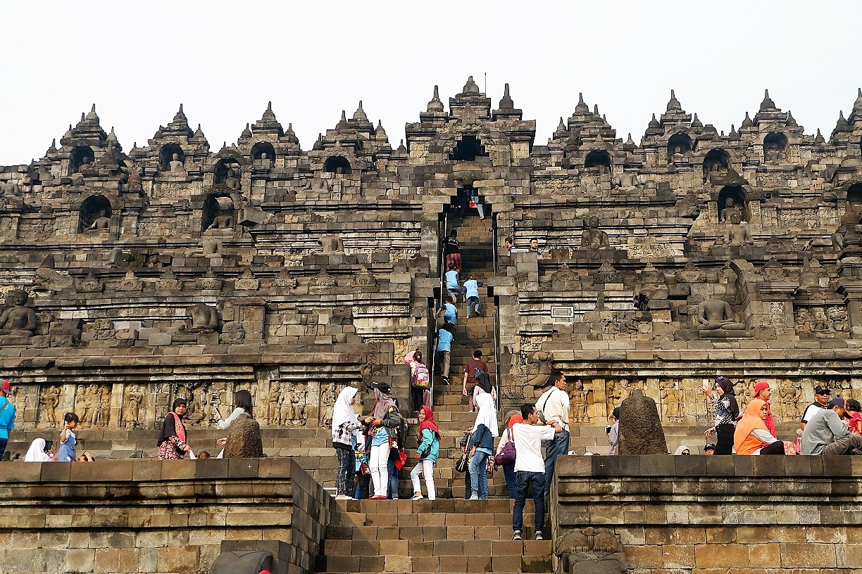 photo of Borobudur