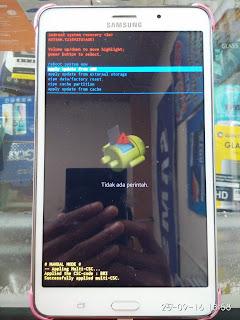 Hard Reset Samsung Galaxy Tab 4 (SM-T235Y)