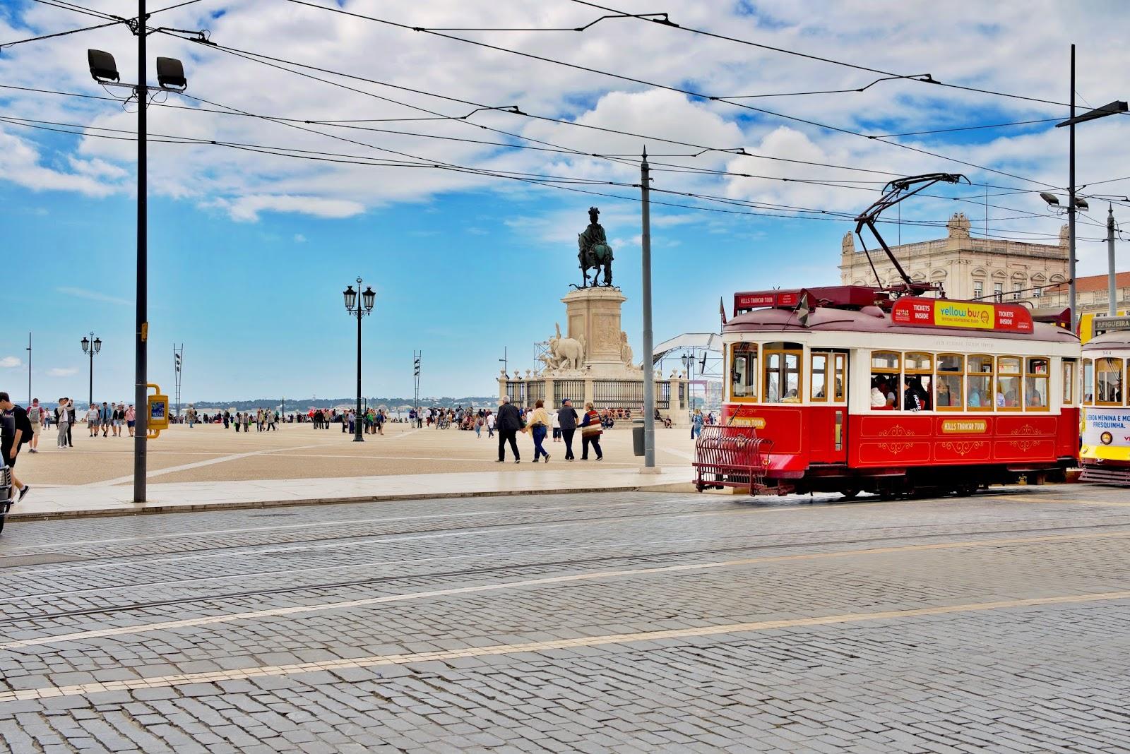Lizbona plac Praca do Comercio