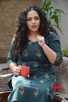 Nithya Menon promotes her latest movie in Green Tight Dress ~  Exclusive Galleries 053.jpg