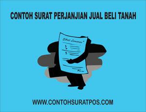 Gambar untuk Contoh Surat Perjanjian Jual Beli Tanah