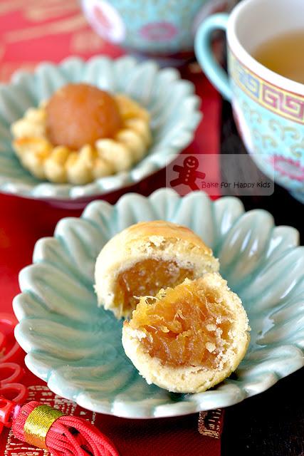 melt in the mouth gula Melaka pineapple tarts