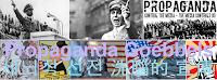 propaganda [프로파갠더 / 프로파간다] 뜻 : 계획적이고 조직적인 허위의 세뇌적 선전 洗腦的 宣傳
