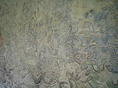 TRepresentacion battle and legend Angkor Temples - Cambodia