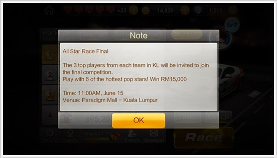 WeChat Speed All Star Race
