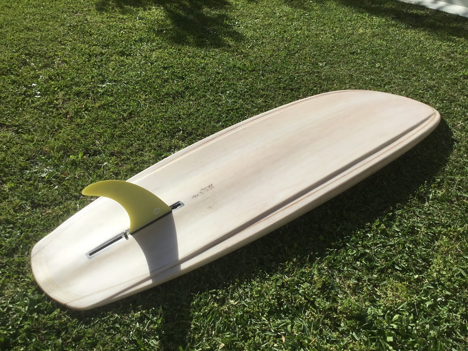 Wooden surfboards wooden greenough edge board wooden greenough edge board pronofoot35fo Image collections