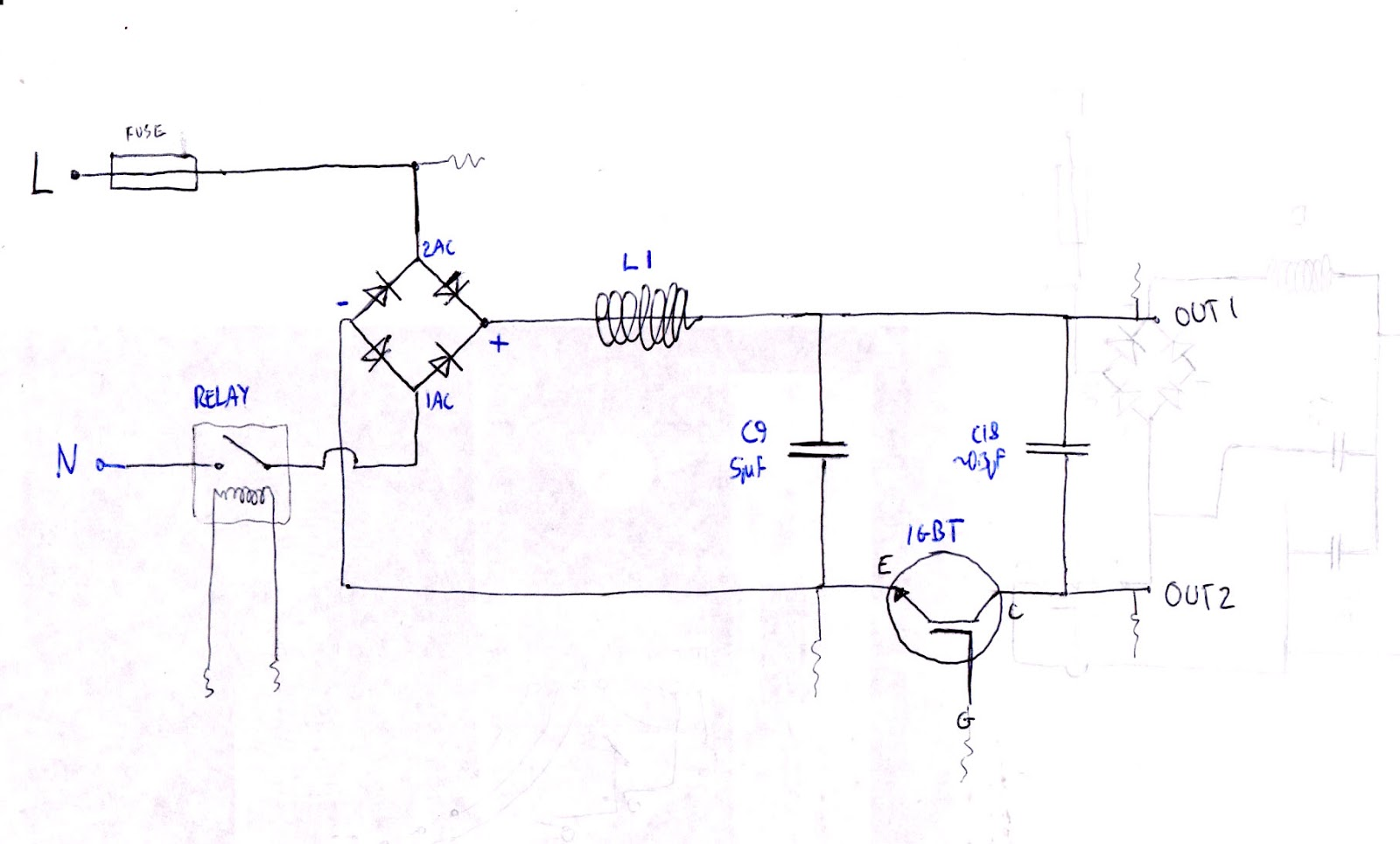 Tom Lever Blog Ics Wiring Diagram My Final Derived Circuit Is Helpfully Very Similar To Another Example Of A I Found On Site