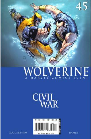 Civil War: Wolverine #45 PDF