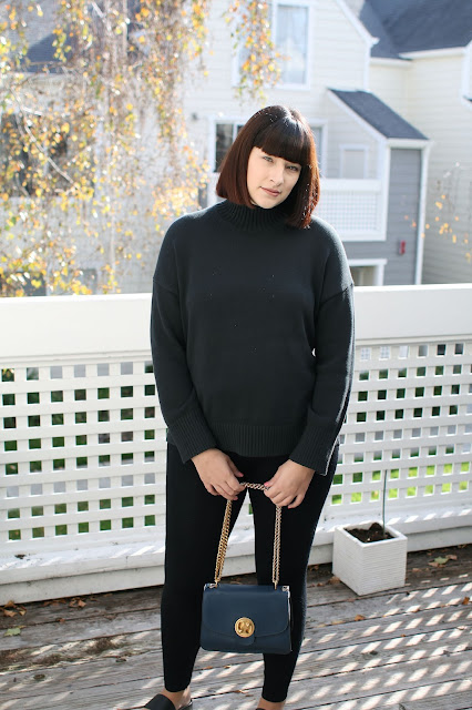 Blanqi, postpartum leggings, Everlane, knitwear, Chloe bag, new mom, Fbloggers, OOTD