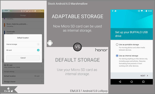 Adaptable Storage in Android